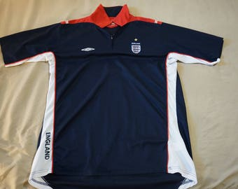 Vintage Style Umbro Soccer Jersey