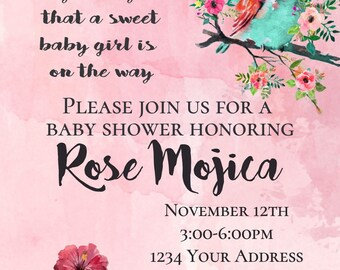 Baby Shower - Girl