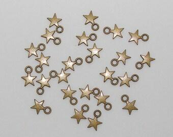 20 stars bronze antique - Ref: BB 234
