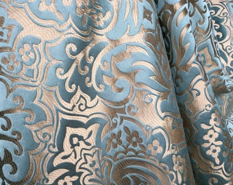 Designer Fabric Palazzo 160 x 140 cm light blue