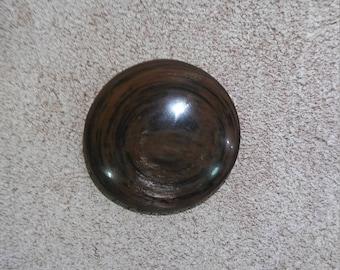 Circle Gold Sheen Mahogany Obsidian