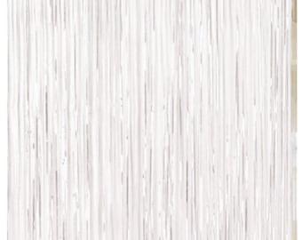 White Door Curtain 91cm X 243m Party Decoration Kids Adult