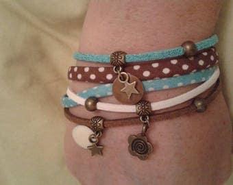 Bracelet 1 round cords-Multi strand