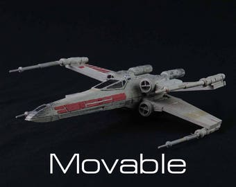 Articulated X-Wing Fighter Star Wars Model