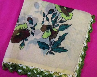 Turkish Scarf Traditional Handmade Vintage Ancient Scarf Women Emroidery Scarves