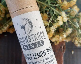 Patchouli Lemon Woods Solid Natural Perfume