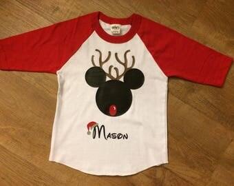 Mickey Rudolph Raglan Shirt
