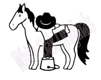 Horseback Tot