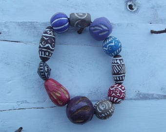 Handmade Wooden Bracelet 1