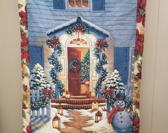 Hand Quilted Christmas Wall Hanging
