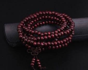 Ethnic Bodhi Buddha Bead Bracelet