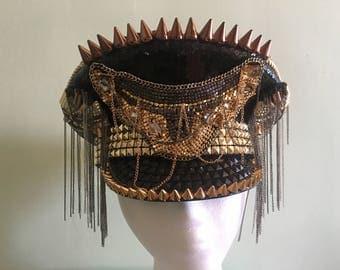 Mixed Metals Captains Hat