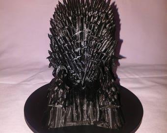 Iron Throne Phone Cradle/Iron Throne/Iron Throne Phone/3D Print Christmas/Christmas 3D Printed/Phone Stand/3D Printed Gift/3D Printed Decor
