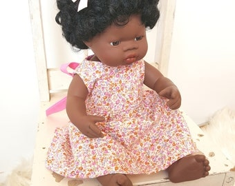 Doll dress 16 inch fits miniland, baby born , cabbage patch doll