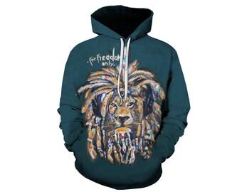 Lion Hoodie, Lion, Lion Hoodies, Animal Prints, Animal Hoodie, Animal Hoodies, Lions, Hoodie Lion, Hoodie, 3d Hoodie, 3d Hoodies - Style 13