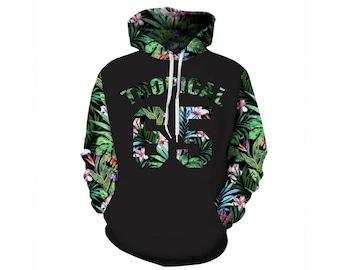 Flower Hoodie, Flowers Hoodie, Floral Hoodie, Flower Sweatshirt, Hoodie Pattern, Pattern Hoodie, Graphic Hoodie, Hoodie, 3d Hoodie, Style 4
