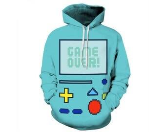 Gaming Hoodie, Gaming Clothes, Retro Gaming, Gaming Clothing, Gaming Decor, Retro Gaming Art, Gaming Gifts, Hoodie, 3d Hoodie - Style 2