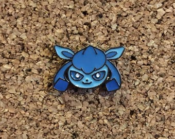Pokemon Glaceon Eeveelution Enamel Pin
