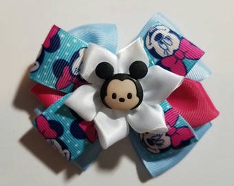 Girls bows,baby girl bow,minie mouse bow.