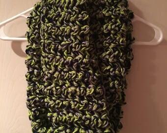Handmade Seahawks infinity scarf