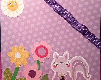 Lavender squirrel