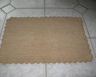 Eco-mat made of jute fiber 2
