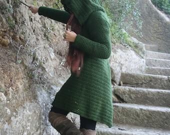 Candika Coat with large Hood