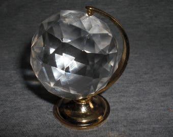 Globe Small - miniature collectible crystal figurine