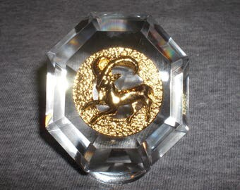 Capricorn - miniature collectible crystal figurine