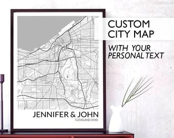 Custom Map Art Digital, City Maps Print, Custom City Maps Large, Custom Map Print, Map Poster, Map Print, Map Wall Art, Personalized Map