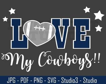 Download Dallas Cowboys Svg | Etsy Studio