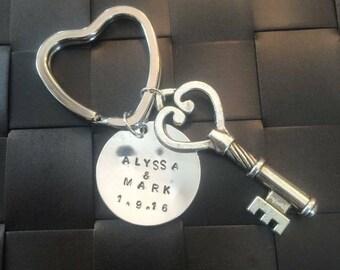Wedding Gift Bridal Keychain