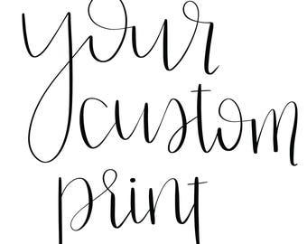 Custom Print