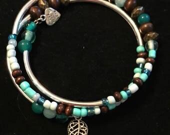 Boho Inspired Wrap Bracelet