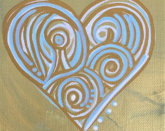 Heart Mini Painting