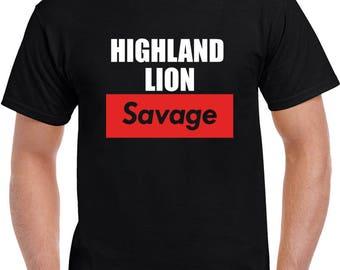 Highland Lion T Shirt