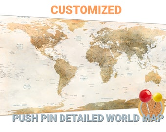 Push pin map etsy gumiabroncs Image collections