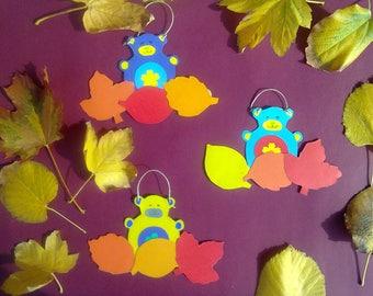 Teddy Bear - Wall decoration for kids room