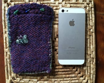 Bejewelled Cell Phone Cozy