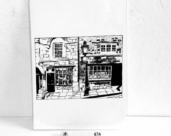 Limited Edition fine art giclee print - The Jew's House