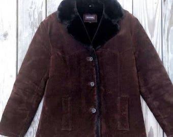 SALE!Suede leather jacket/coat
