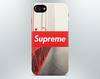 Supreme iPhone case 7 8 X plus 6 6s 5 5s se Samsung galaxy case supreme s8 s7 edge s6 s5 s4 note 4 mobile cover art print gift phone red