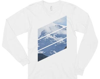 Shirtography: Mountain Diagonals Long-Sleeve