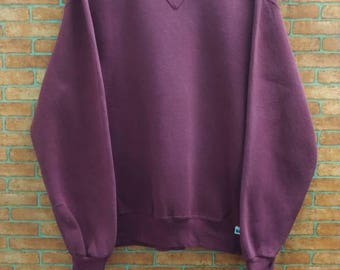 Rare!! Russell Athletics sweatshirt crewneck Made in USA Medium Size