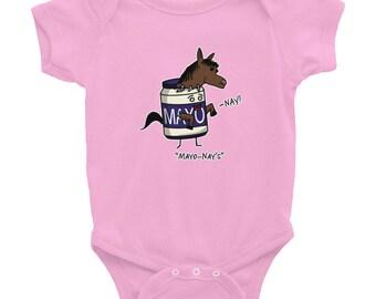 """Mayo-Nay's"""" - Infant Bodysuit"""