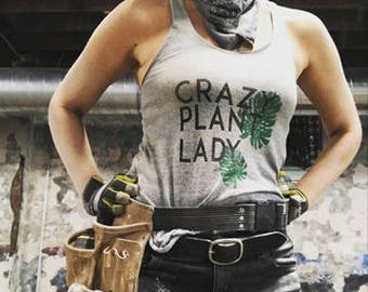 Crazy Plant Lady Tee Shirt