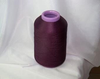 Purple Thread Textured Polyester