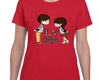 Valentines Viny Shirts T Shirt
