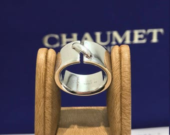 Ring CHAUMET LINK white 18 k large Model