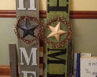 Made to order wooden signs